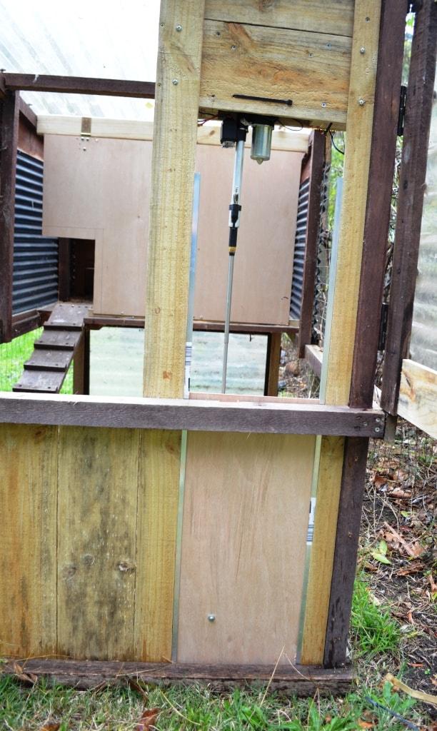 door for chicken coop