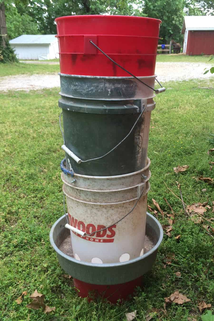 home made chicken watering systems