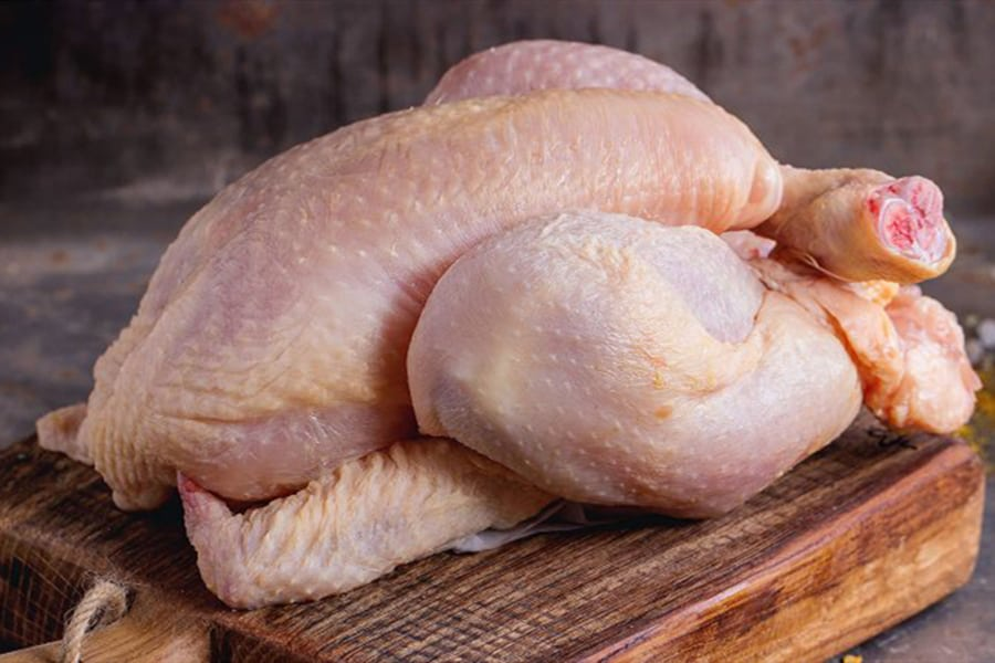 how long can raw chicken be left out