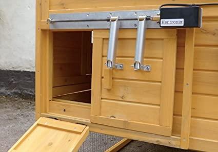 how to make a chicken coop door