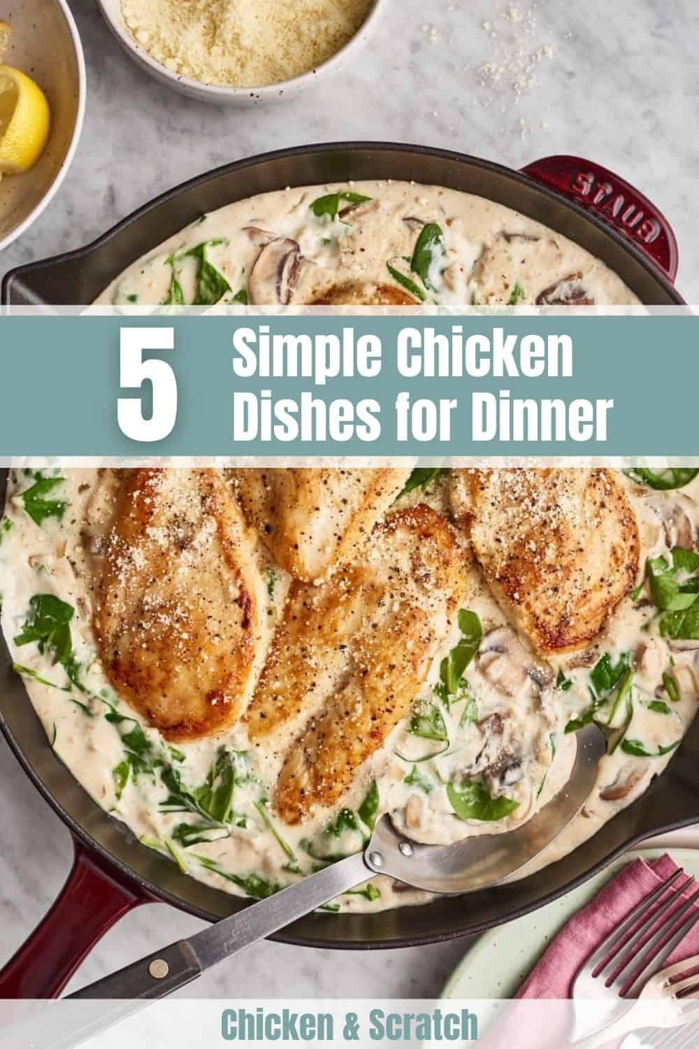 Simple Chicken Dishes for Dinner