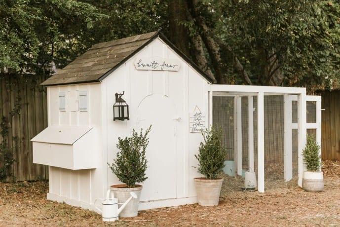 Farmhouse Chicken Coop Plan