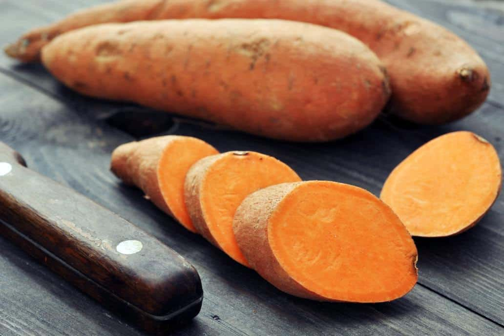 can chickens eat raw sweet potatoes