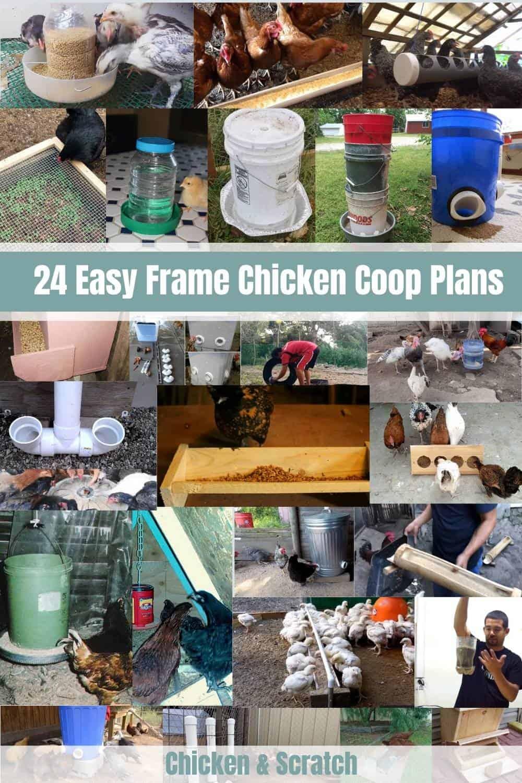 diy chicken feeder ideas