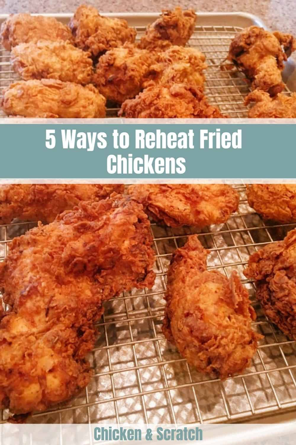 reheating fried chicken in oven